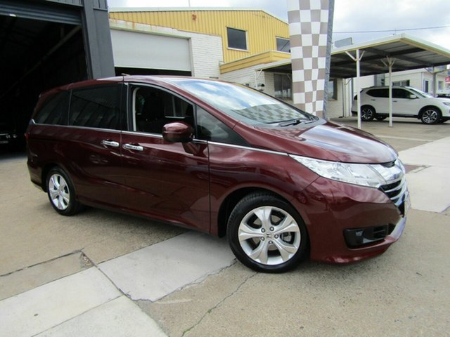 Used Honda Odyssey RC MY15 VTi Moorooka, 2015 Honda Odyssey RC MY15 VTi Red 7 Speed Constant Variable Wagon
