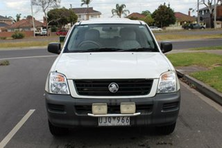 2005 Holden Rodeo RA MY05.5 Upgrade LX White 5 Speed Manual Crew Cab Pickup.