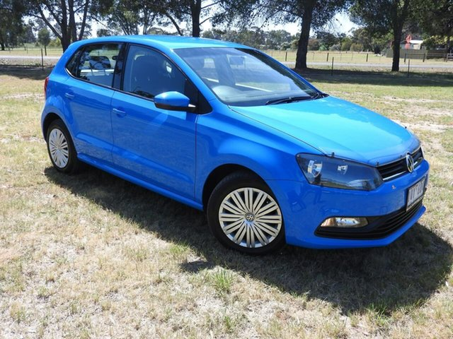 Used Volkswagen Polo  , Volkswagen Polo 66TSI TREN Cornflower Blue 7SPD AUTO Hatchback