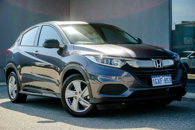 Used Honda HR-V MY20 VTi, 2019 Honda HR-V MY20 VTi Grey 1 Speed Constant Variable Hatchback