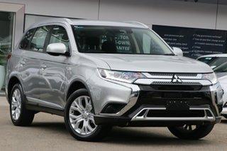 2019 Mitsubishi Outlander ZL MY20 ES AWD ADAS Silver 6 Speed Constant Variable Wagon.