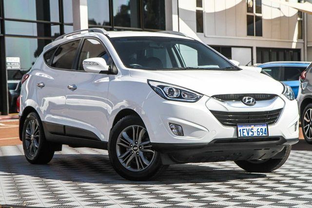 Used Hyundai ix35 LM3 MY15 Elite, 2015 Hyundai ix35 LM3 MY15 Elite White 6 Speed Sports Automatic Wagon