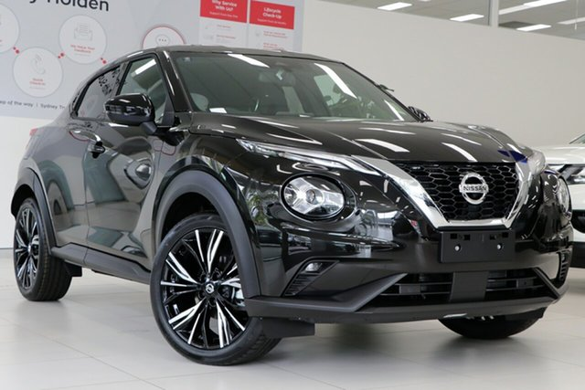 New Nissan Juke F16 Ti DCT 2WD St Marys, 2020 Nissan Juke F16 Ti DCT 2WD Pearl Black 7 Speed Sports Automatic Dual Clutch Hatchback