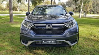 2020 Honda CR-V RW MY21 VTi 4WD L AWD Cosmic Blue 1 Speed Automatic Wagon.