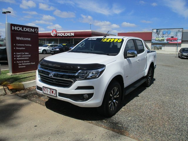 Used Holden Colorado RG MY20 LTZ Pickup Crew Cab, 2020 Holden Colorado RG MY20 LTZ Pickup Crew Cab Summit White 6 Speed Sports Automatic Utility