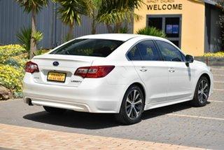 2017 Subaru Liberty B6 MY17 2.5i CVT AWD White 6 Speed Constant Variable Sedan