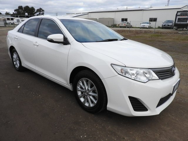 Used Toyota Camry  , 2015 Toyota Camry ALTISE White 5 Speed Automatic Sedan