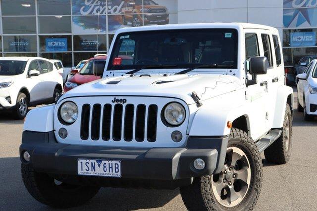 Used Jeep Wrangler JK MY2015 Unlimited Overland, 2014 Jeep Wrangler JK MY2015 Unlimited Overland White 5 Speed Automatic Hardtop
