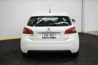 2016 Peugeot 308 T9 Active White 6 Speed Sports Automatic Hatchback