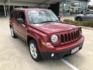 2014 Jeep Patriot MK MY15 Limited Red 6 Speed Sports Automatic Wagon.