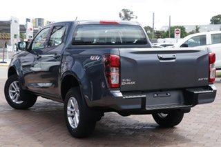 2021 Isuzu D-MAX RG MY21 LS-M Crew Cab Obsidian Grey 6 Speed Sports Automatic Utility.