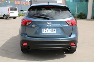 2014 Mazda CX-5 MY13 Upgrade Akera (4x4) Blue 6 Speed Automatic Wagon
