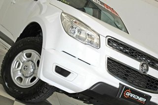 2015 Holden Colorado RG MY16 LS (4x4) White 6 Speed Automatic Crew Cab Pickup.