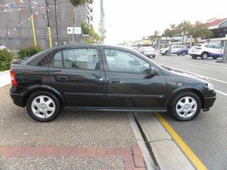 2001 Holden Astra TS CD Black 5 Speed Manual Hatchback