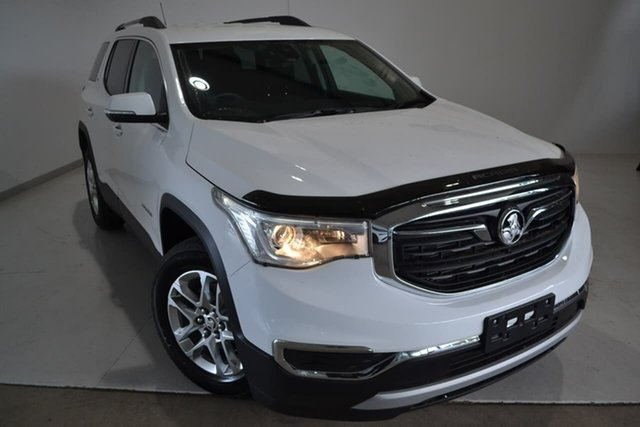 Used Holden Acadia AC MY19 LT 2WD, 2019 Holden Acadia AC MY19 LT 2WD White 9 Speed Sports Automatic Wagon