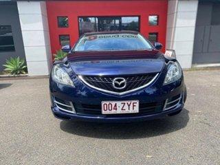2008 Mazda 6 GH1051 Luxury Metallic Blue 5 Speed Sports Automatic Sedan.