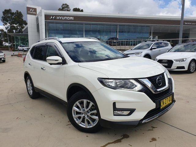 Used Nissan X-Trail T32 ST-L X-tronic 2WD, 2017 Nissan X-Trail T32 ST-L X-tronic 2WD White 7 Speed Constant Variable Wagon