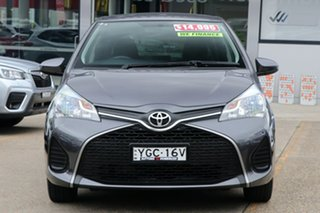2016 Toyota Yaris NCP130R Ascent Grey 5 Speed Manual Hatchback