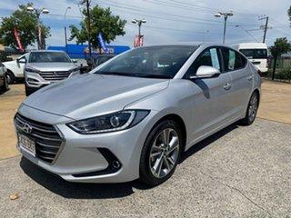 2015 Hyundai Elantra AD MY17 Elite Silver 6 Speed Sports Automatic Sedan