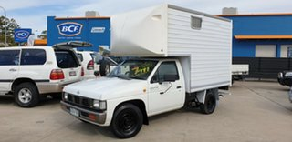 1997 Nissan Navara D21 DX 4x2 White 4 Speed Automatic Cab Chassis.