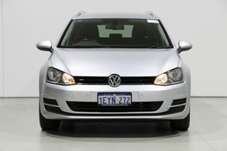 2015 Volkswagen Golf AU MY15 90 TSI Comfortline Grey 7 Speed Auto Direct Shift Wagon.
