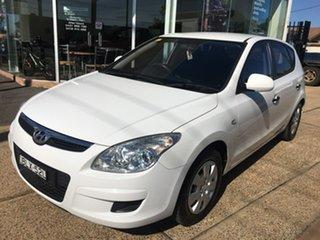 2009 Hyundai i30 FD SX White Automatic.