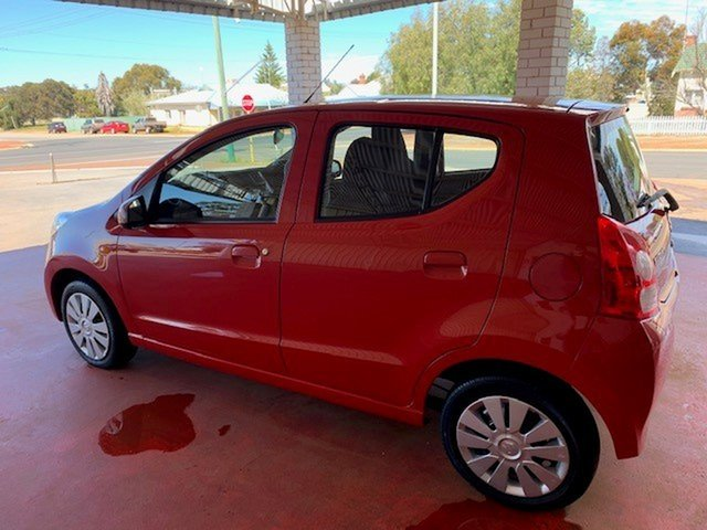 Used Suzuki Alto GF GL Katanning, 2012 Suzuki Alto GF GL Red 5 Speed Manual Hatchback