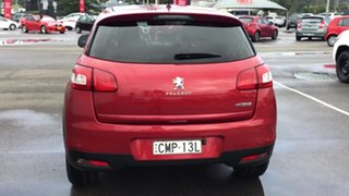 2012 Peugeot 4008 MY12 Active 2WD Red 5 Speed Manual Wagon