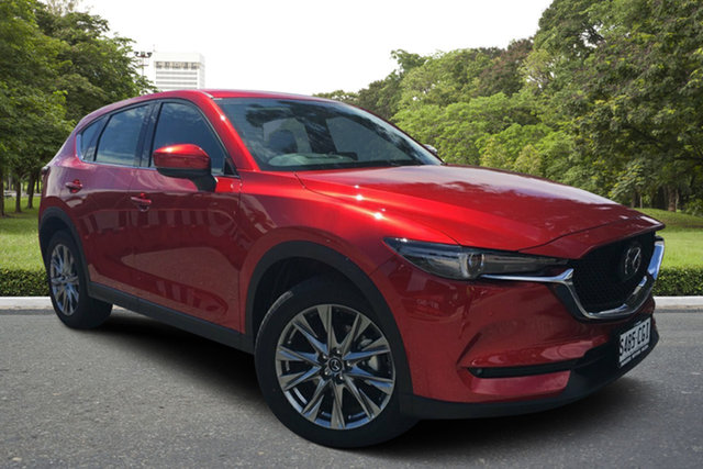 Demo Mazda CX-5 KF4WLA Akera SKYACTIV-Drive i-ACTIV AWD, 2020 Mazda CX-5 KF4WLA Akera SKYACTIV-Drive i-ACTIV AWD Soul Red 6 Speed Sports Automatic Wagon