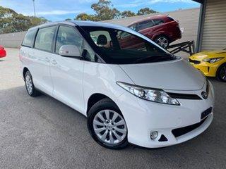 2018 Toyota Tarago ACR50R GLi White 7 Speed Constant Variable Wagon.
