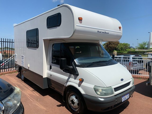 Used Ford Transit St James, 2004 Ford Ford Transit 125 T350 White Motor Home