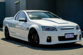 2012 Holden Ute VE II SS Thunder White 6 Speed Manual Utility.
