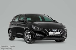 2020 Hyundai i30 PD.V4 MY21 Phantom Black 6 Speed Sports Automatic Hatchback