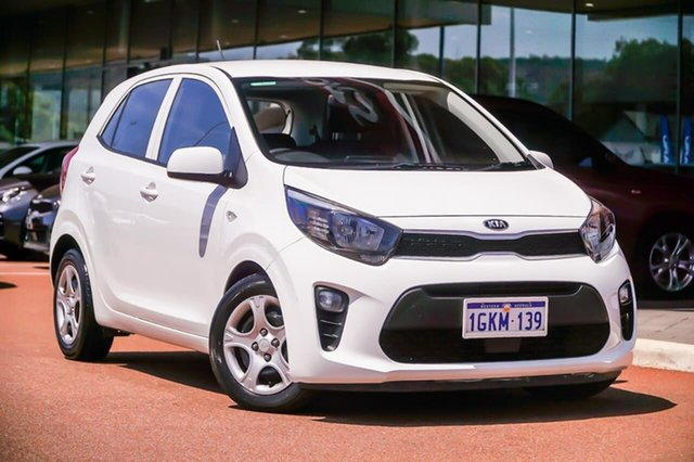 Used Kia Picanto TA MY17 SI, 2017 Kia Picanto TA MY17 SI White 4 Speed Automatic Hatchback