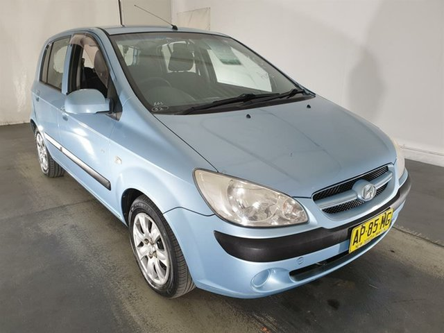 Used Hyundai Getz TB MY07 SX, 2007 Hyundai Getz TB MY07 SX Blue 4 Speed Automatic Hatchback