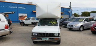 1997 Nissan Navara D21 DX 4x2 White 4 Speed Automatic Cab Chassis