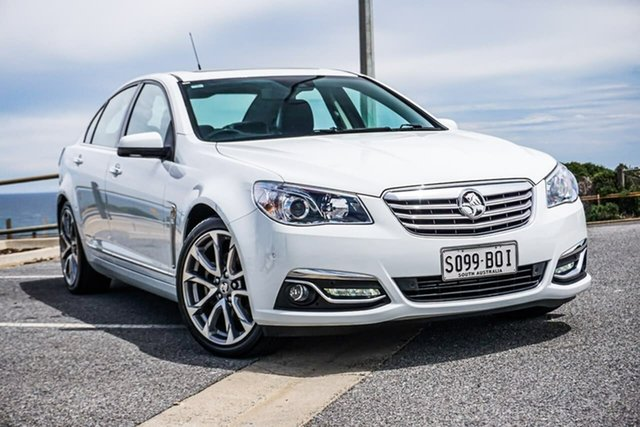 Used Holden Calais VF II MY17 V Christies Beach, 2017 Holden Calais VF II MY17 V White 6 Speed Sports Automatic Sedan