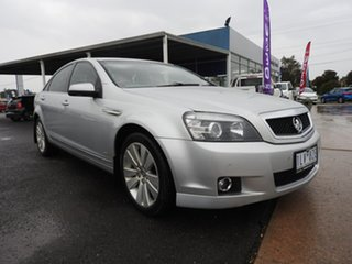 Holden Caprice Silver 6 Speed Automatic Sedan.
