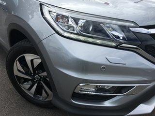 2016 Honda CR-V RM Series II MY17 VTi-L Silver 5 Speed Sports Automatic Wagon.