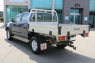 2007 Toyota Hilux KUN26R 07 Upgrade SR5 (4x4) Grey 5 Speed Manual Dual Cab Pick-up