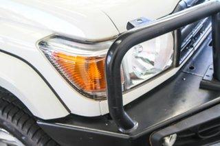 2018 Toyota Landcruiser VDJ79R GX (4x4) French Vanilla 5 Speed Manual Cab Chassis