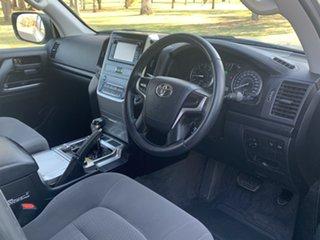 2017 Toyota Landcruiser VDJ200R GXL Brilliant Silver 6 Speed Sports Automatic Wagon