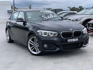 2017 BMW 1 Series F20 LCI 125i M Sport Black 8 Speed Sports Automatic Hatchback.