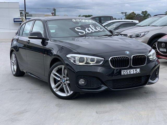 Used BMW 1 Series F20 LCI 125i M Sport Liverpool, 2017 BMW 1 Series F20 LCI 125i M Sport Black 8 Speed Sports Automatic Hatchback