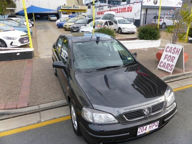 Used Holden Astra TS CD Southport, 2001 Holden Astra TS CD Black 5 Speed Manual Hatchback
