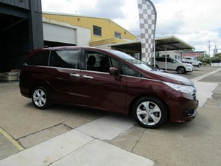 2015 Honda Odyssey RC MY15 VTi Red 7 Speed Constant Variable Wagon