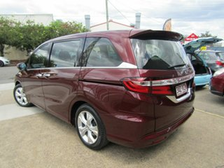 2015 Honda Odyssey RC MY15 VTi Red 7 Speed Constant Variable Wagon.