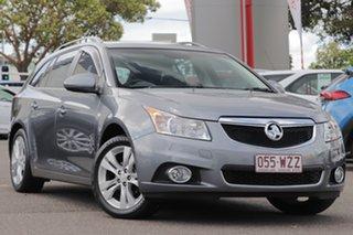 2014 Holden Cruze JH Series II MY14 CDX Sportwagon Grey 6 Speed Sports Automatic Wagon.