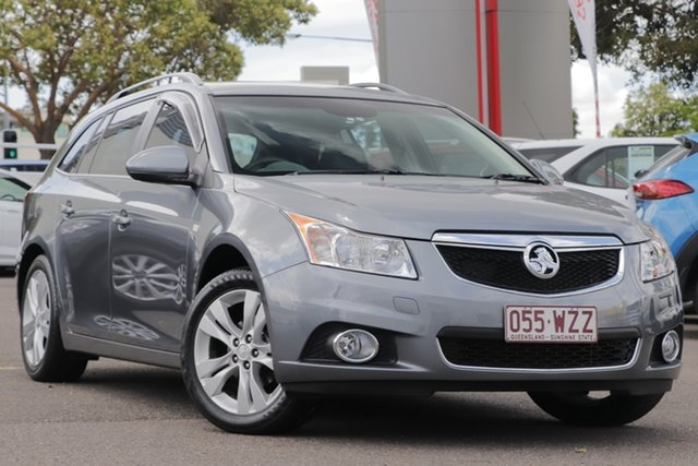 Used Holden Cruze JH Series II MY14 CDX Sportwagon, 2014 Holden Cruze JH Series II MY14 CDX Sportwagon Grey 6 Speed Sports Automatic Wagon