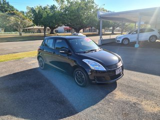 2012 Suzuki Swift FZ GL Black Automatic Hatchback